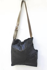 Engso Large, Folded One-Piece Bag - Black + Brown