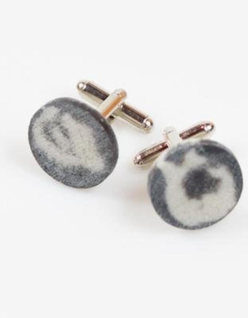 Dconstruct Jewelry Concrete Cufflinks - Circle