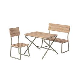 Maileg Pre-Order - Miniature Garden Table + Chairs