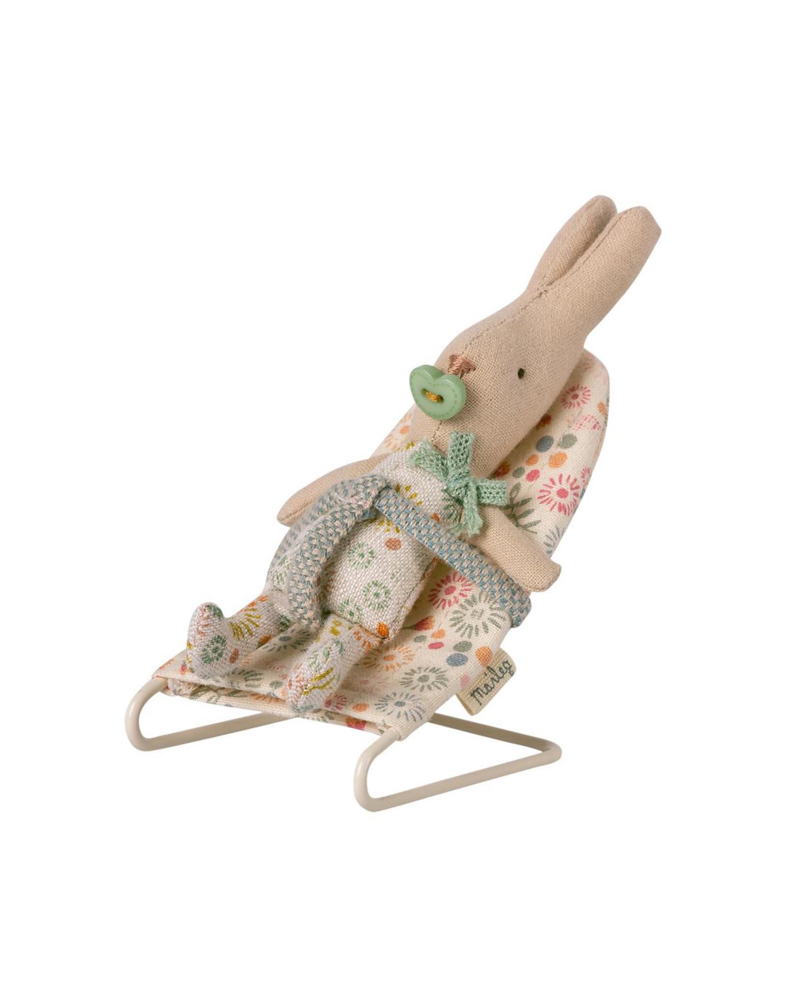Maileg MY Mouse Baby Sitter - Dark Floral