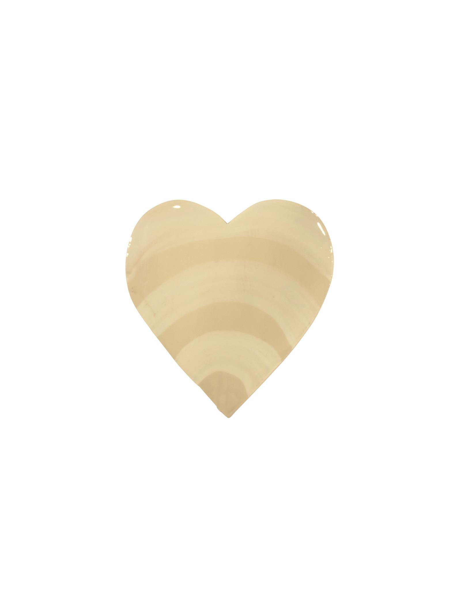 Entouquet Putty + Cream Medium Heart
