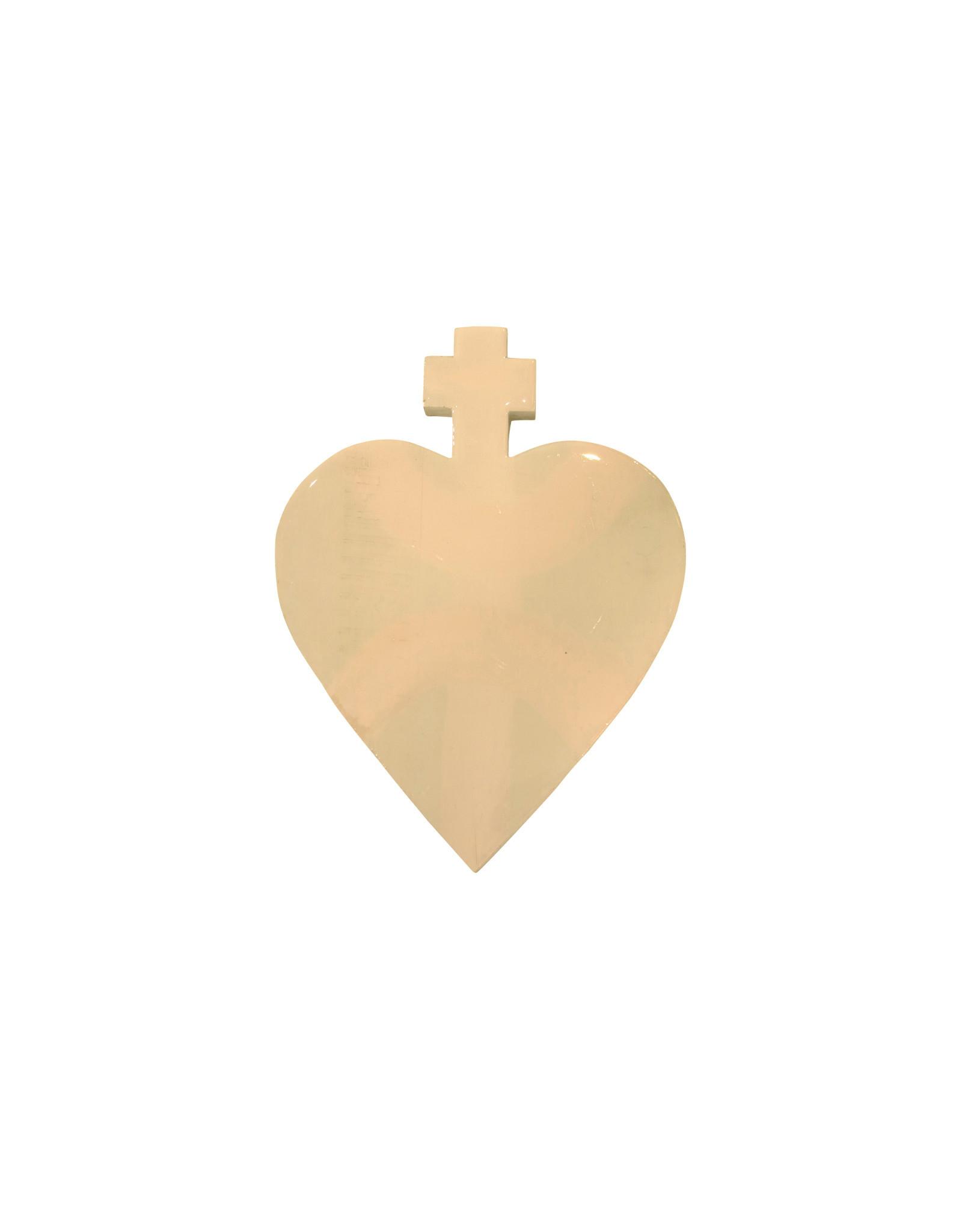 Entouquet Lilac + Putty Medium Cross Heart