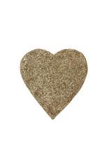 Entouquet Champagne Glitter Medium Heart