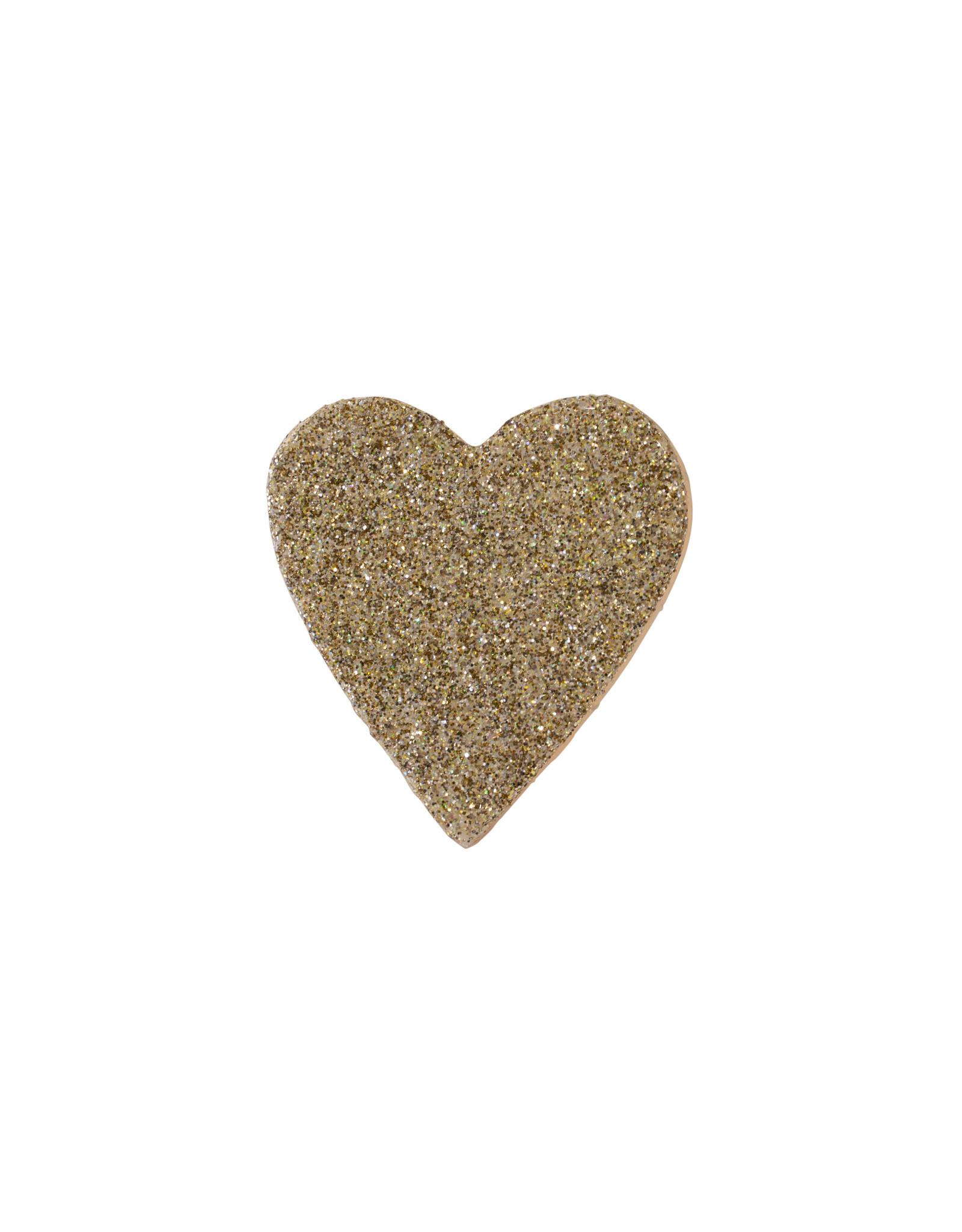 Entouquet Champagne Glitter Small Heart
