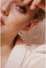 Sarah Mulder Jewelry Arya Earrings - Gold