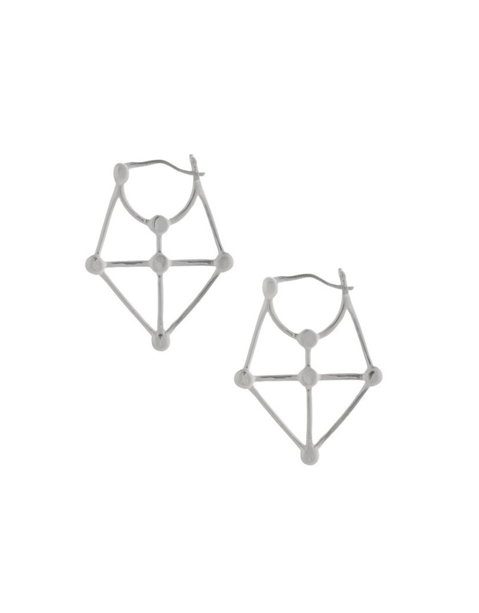 Sarah Mulder Jewelry Carice Earrings - Silver
