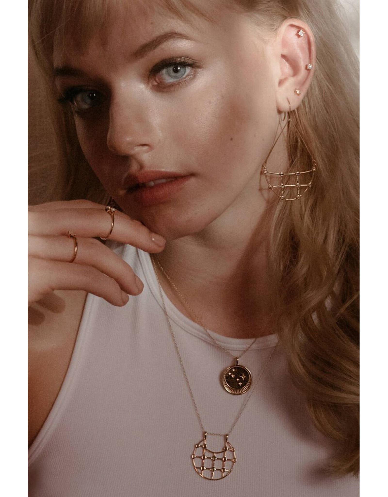 Sarah Mulder Jewelry Willa Earrings - Silver