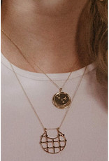 Sarah Mulder Jewelry Arya Necklace - Silver