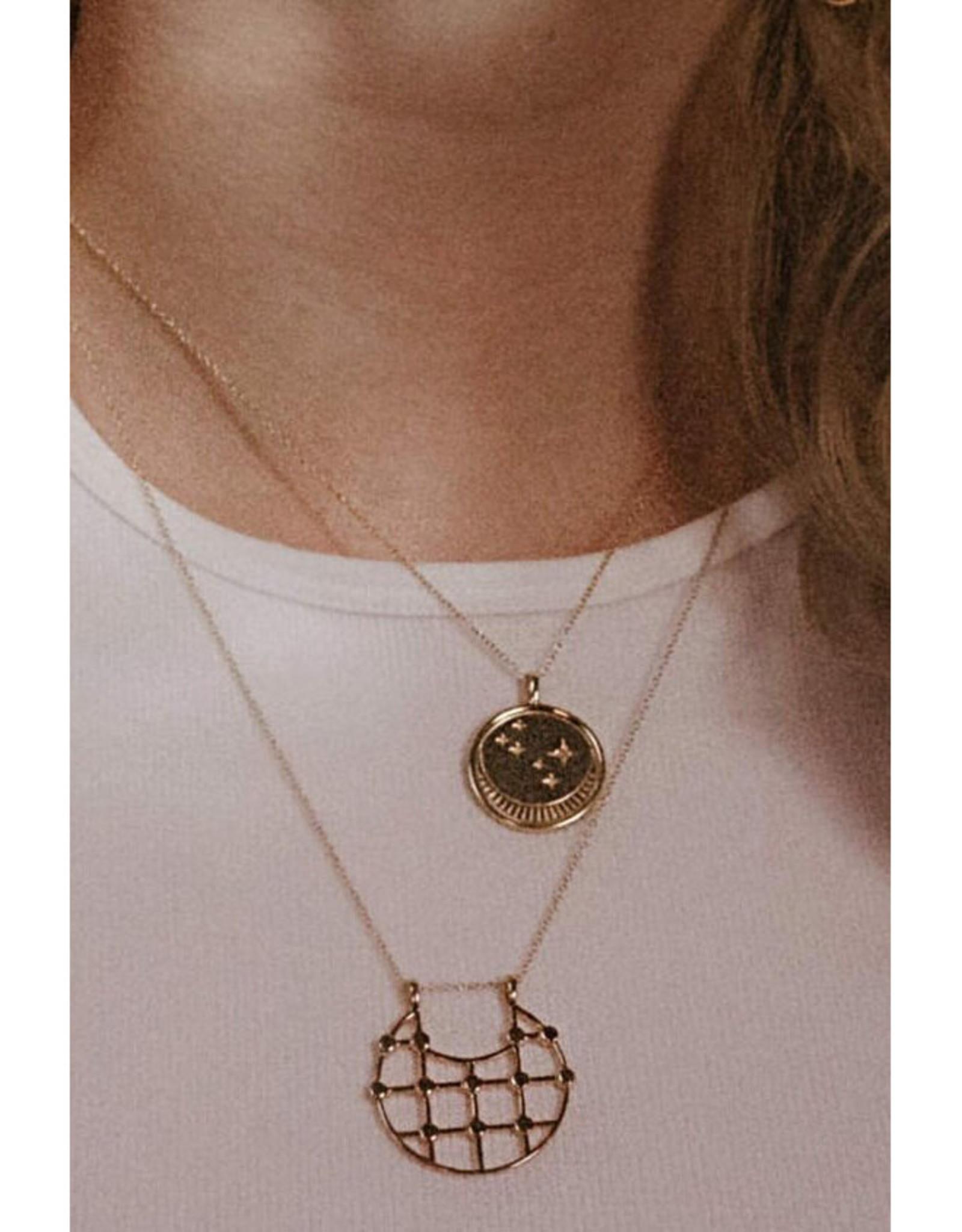 Sarah Mulder Jewelry Arya Necklace - Gold