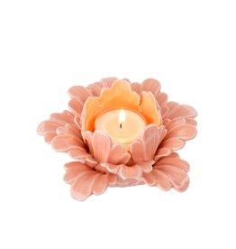 Indaba Pretty Petals Tealight - Apricot