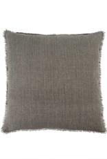 Indaba Lina Linen Pillow - Warm Grey