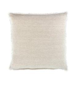 Indaba Lina Linen Pillow - Chambray