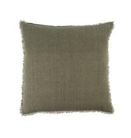Indaba Lina Linen Pillow - Laurel