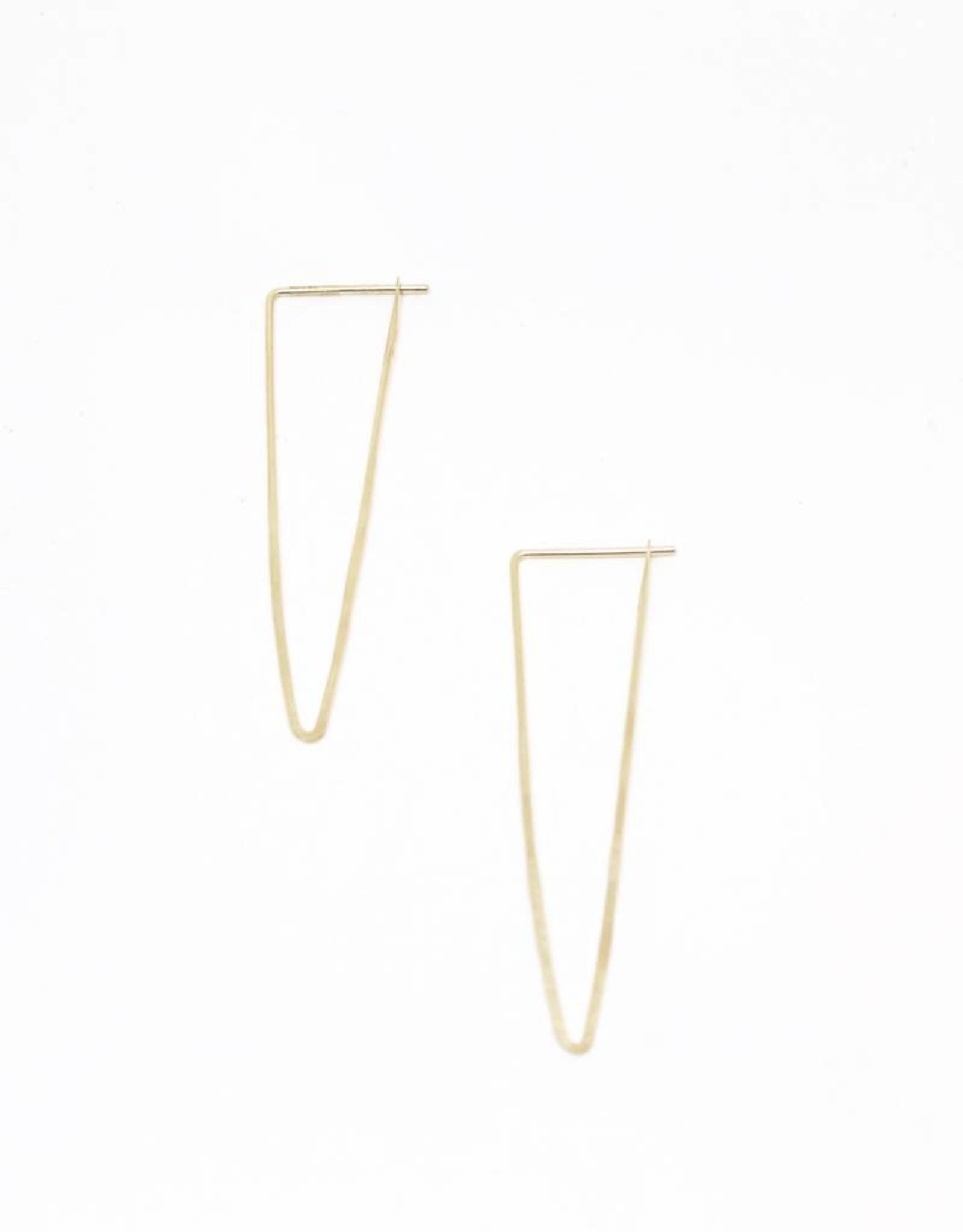 Satomi Studio Peak Hoop Earring - Large