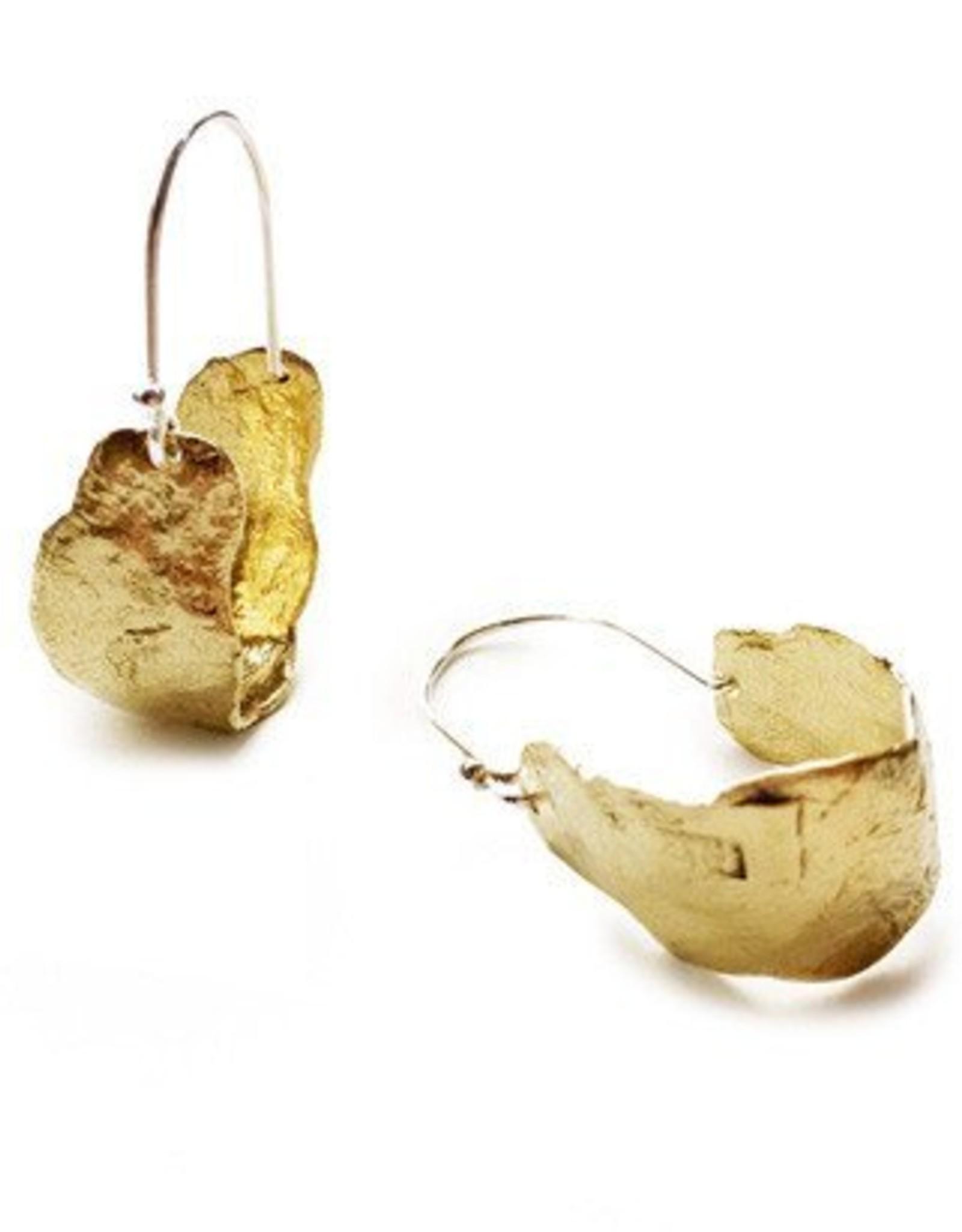 Satomi Studio Mudstone Hoop Earring