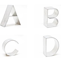Gauge NYC Aluminum Mini Letter