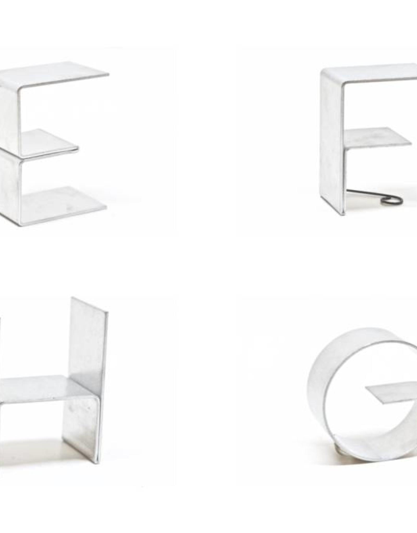 Gauge NYC Aluminum Mini Letter