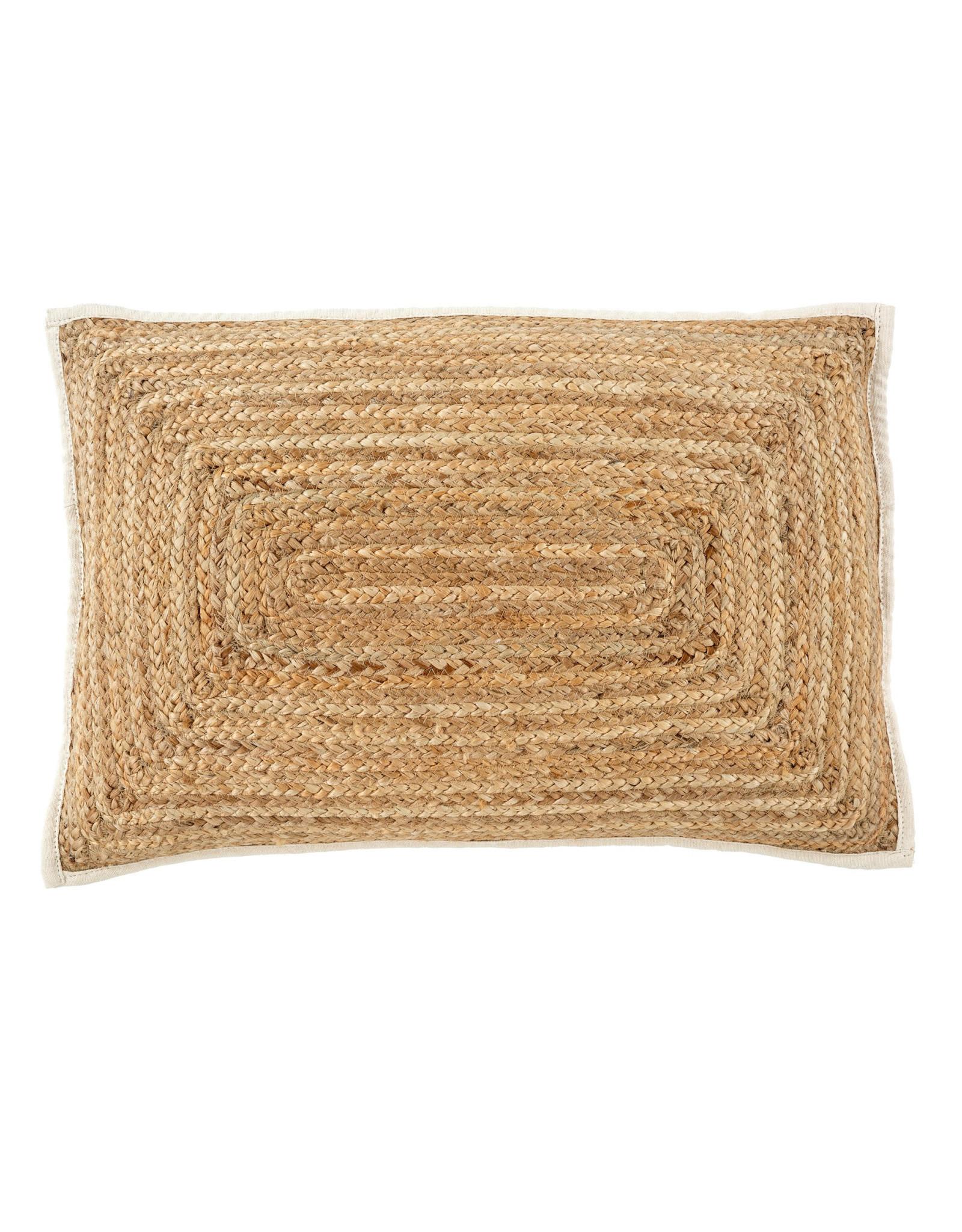 Indaba Monaco Lumbar Pillow - Jute