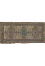 Vintage Oushak Rug - Teal