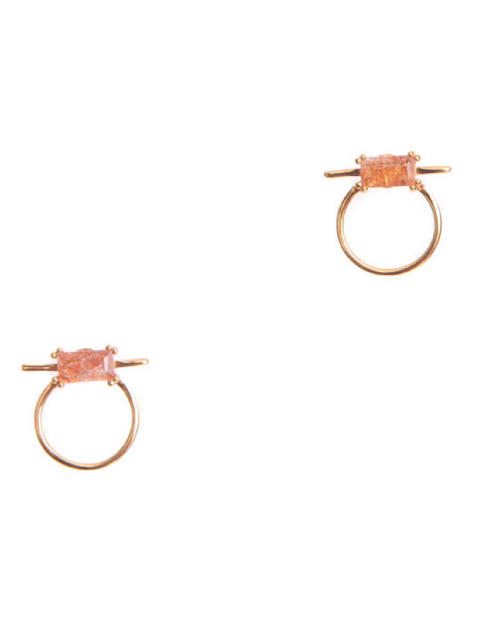 Hailey Gerrits Designs Antigua Studs - Sunstone