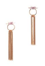 Hailey Gerrits Designs Capri Earrings - Pink Amethyst