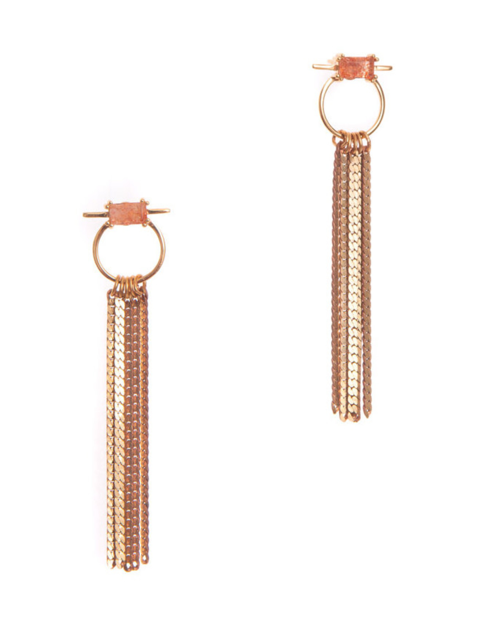 Hailey Gerrits Designs Capri Earrings - Sunstone