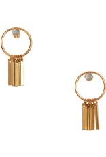 Hailey Gerrits Designs Arbutus Earrings - Labradorite