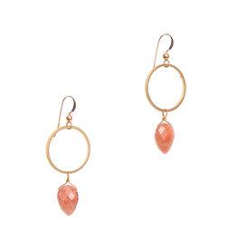 Hailey Gerrits Designs Rhea Earrings - Sunstone