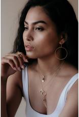 Sarah Mulder Jewelry Silver Imperial Necklace - Rose Quartz
