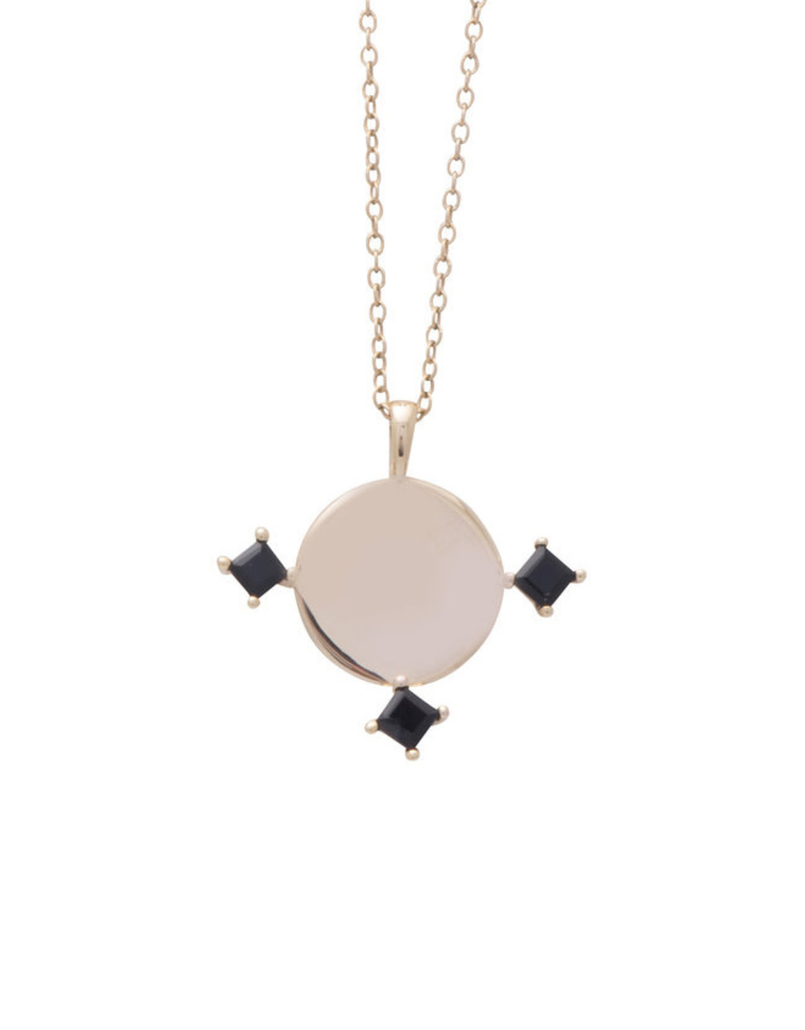 Sarah Mulder Jewelry Gold Imperial Necklace - Onyx