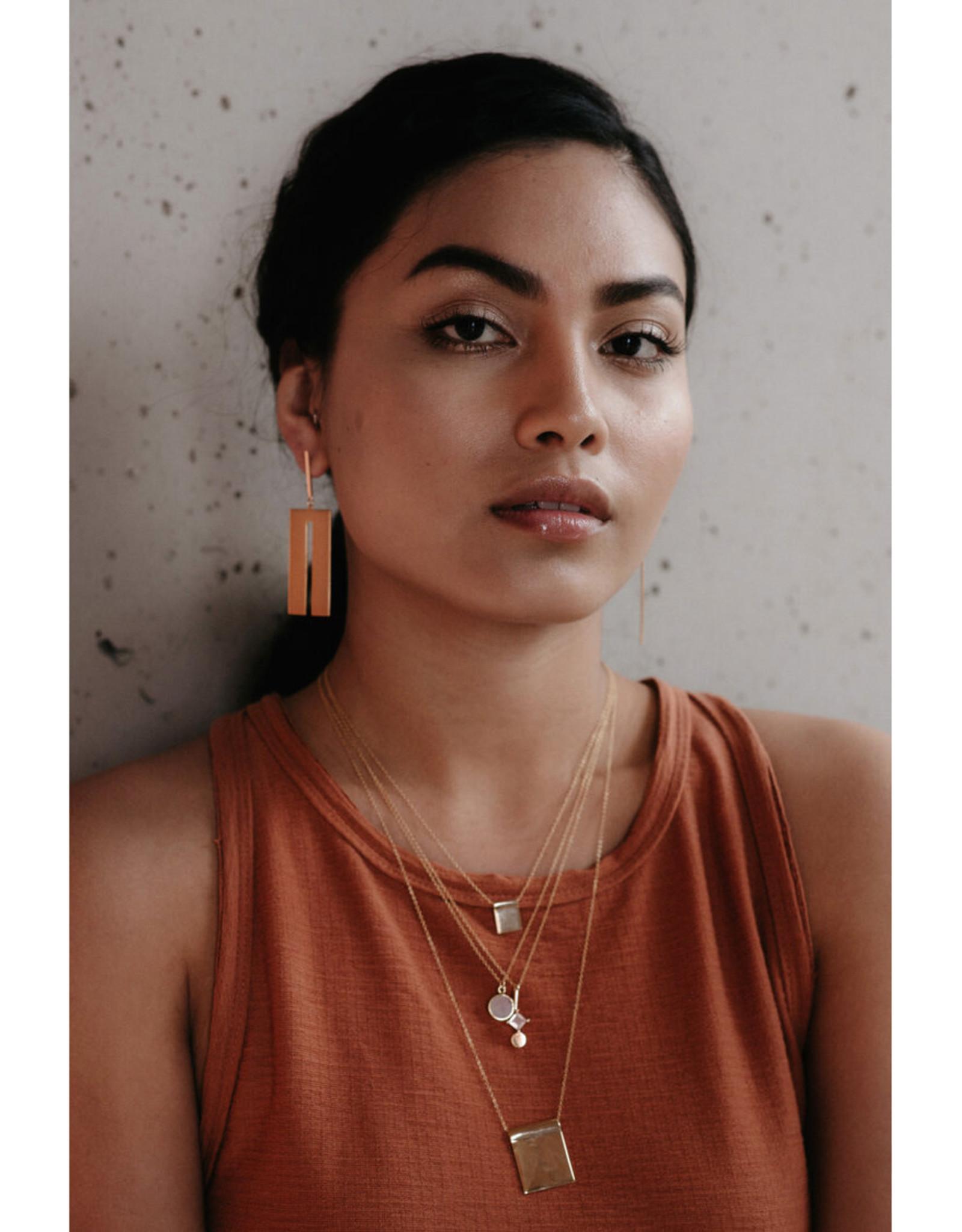 Sarah Mulder Jewelry Silver Sahara Necklace - Small