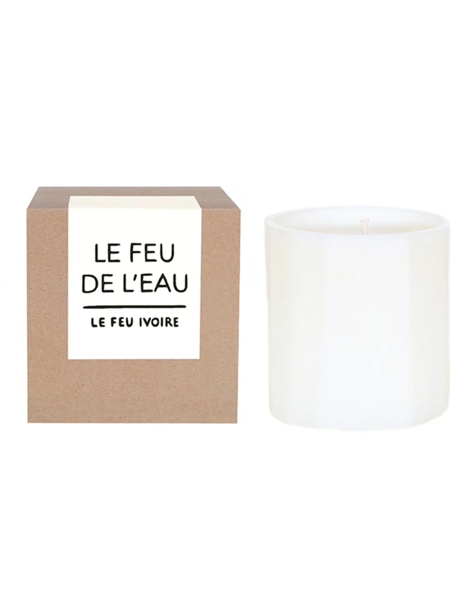 Le Feu De L'Eau Le Feu Ivoire Candle
