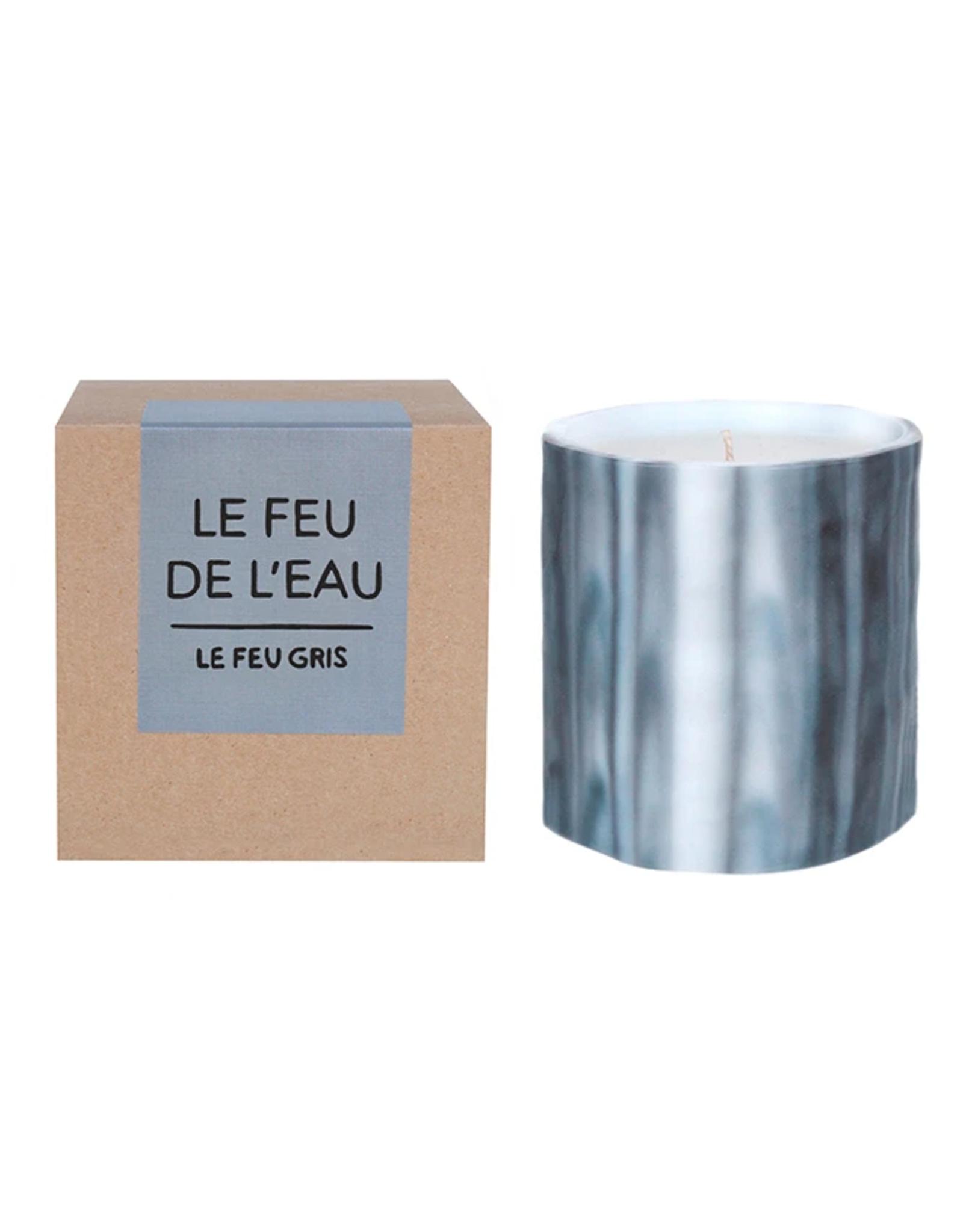 Le Feu De L'Eau Le Feu Gris Candle