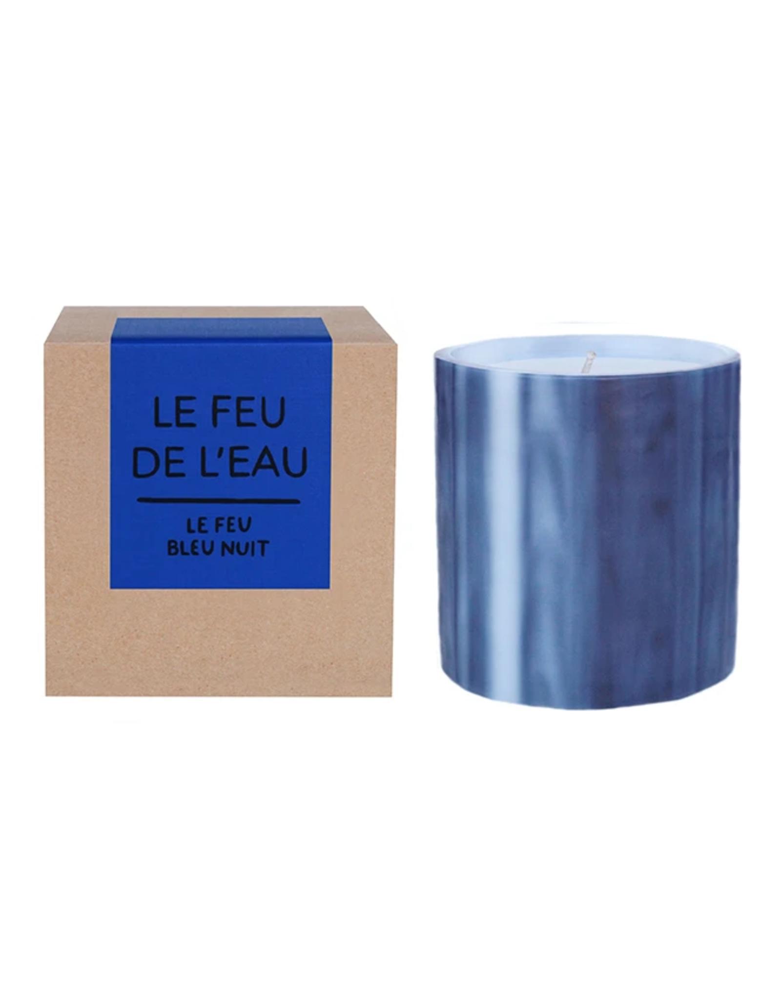 Le Feu De L'Eau Le Feu Bleu Nuit Candle