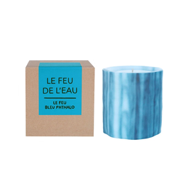 Le Feu De L'Eau Le Feu Bleu Pthalo Candle | Night Blooming Jasmine