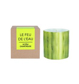 Le Feu De L'Eau Le Feu Chartreuse Candle | Cedar + Frankincense