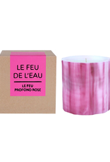 Le Feu De L'Eau Le Feu Profound Rose Candle