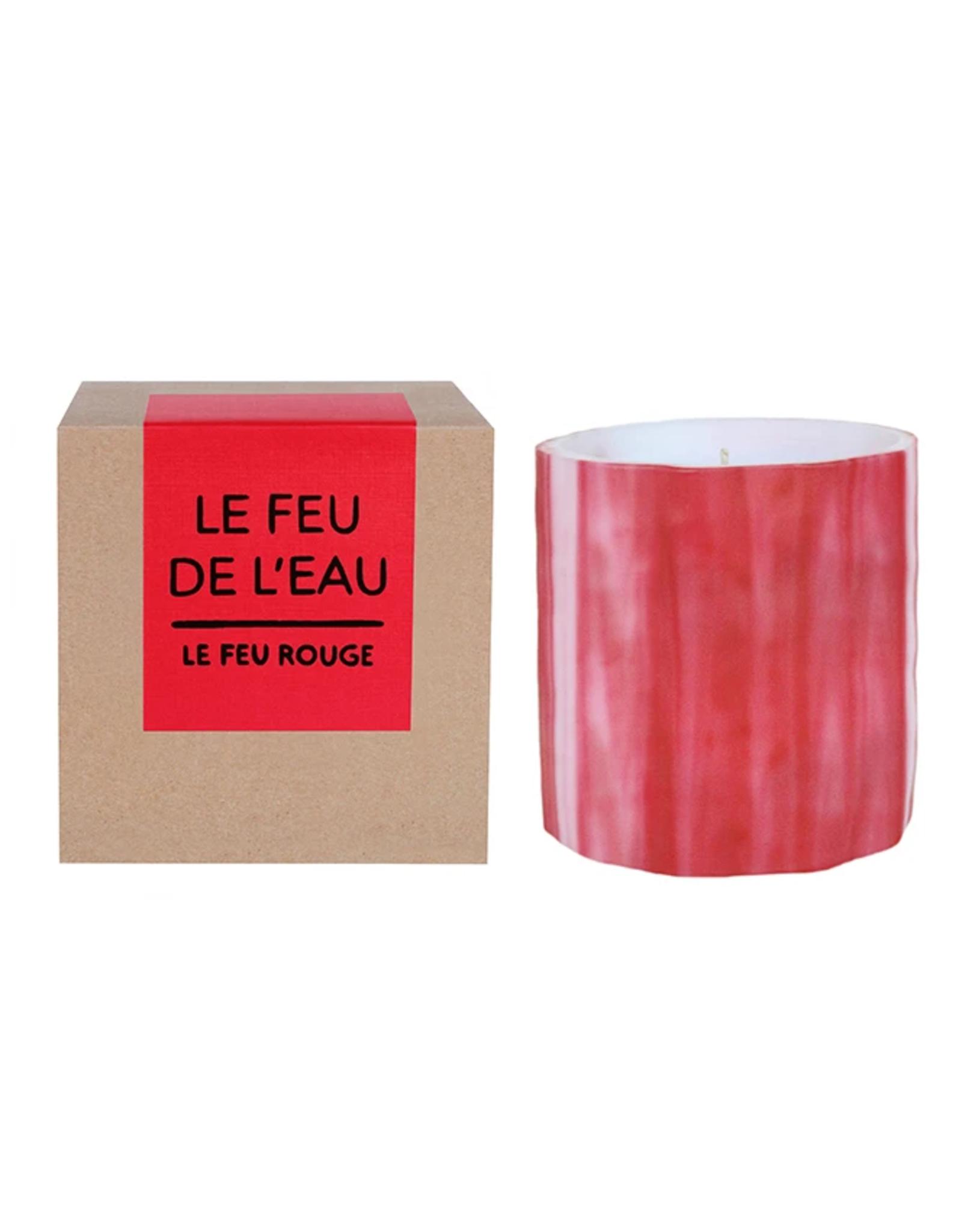 Le Feu De L'Eau Le Feu Rouge Candle