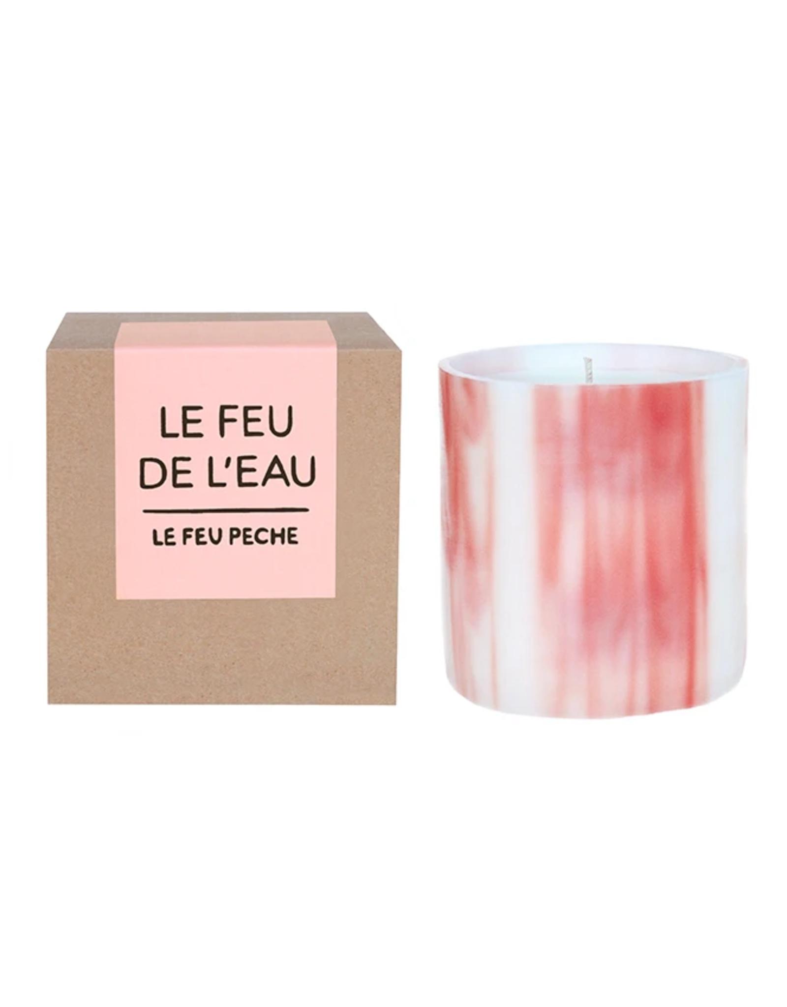 Le Feu De L'Eau Le Feu Peche Candle