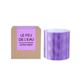 Le Feu De L'Eau Le Feu Violet Candle | Grapefruit + Tobacco