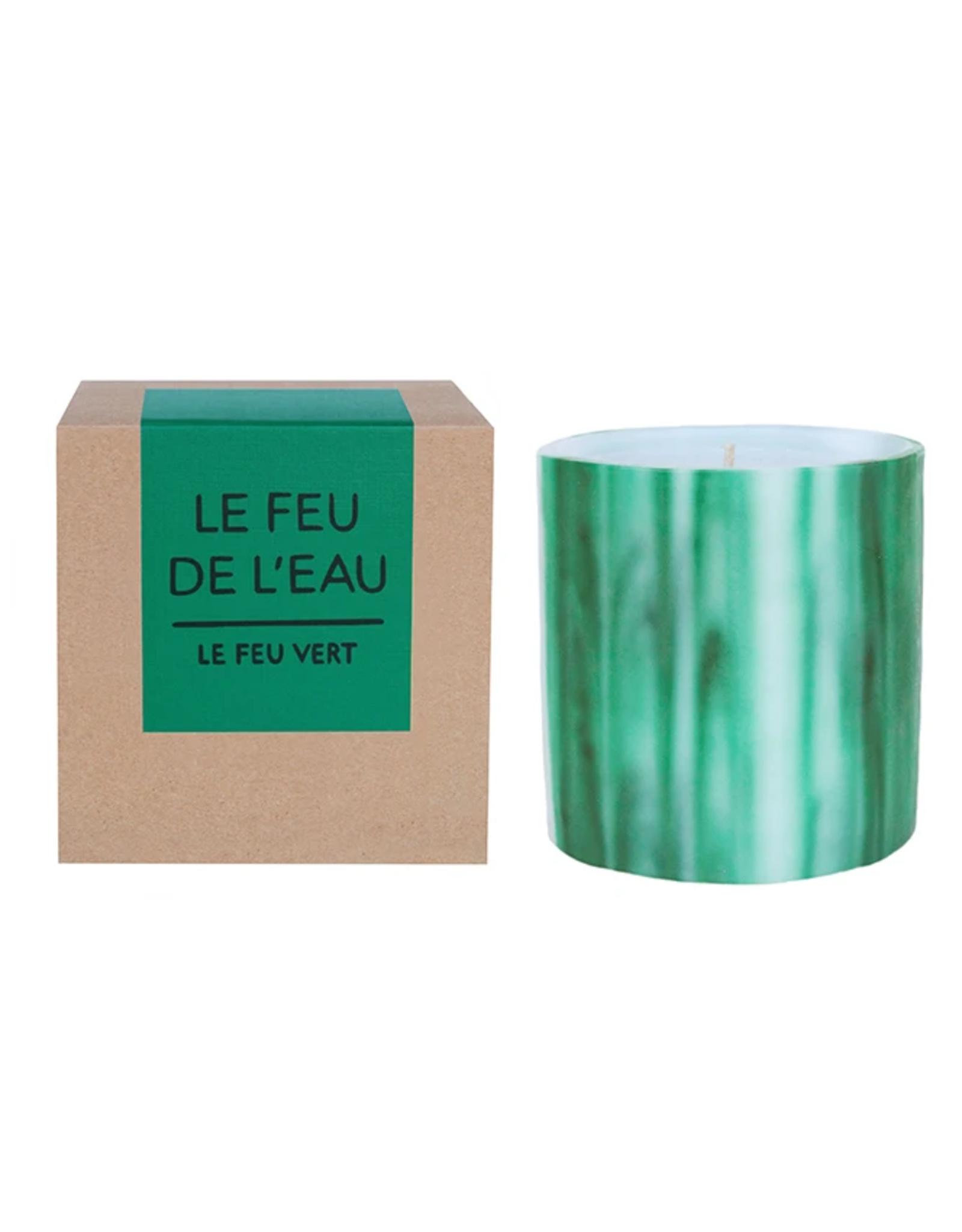 Le Feu De L'Eau Le Feu Vert Candle