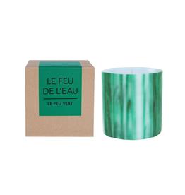 Le Feu De L'Eau Le Feu Vert Candle | Fig Leaf
