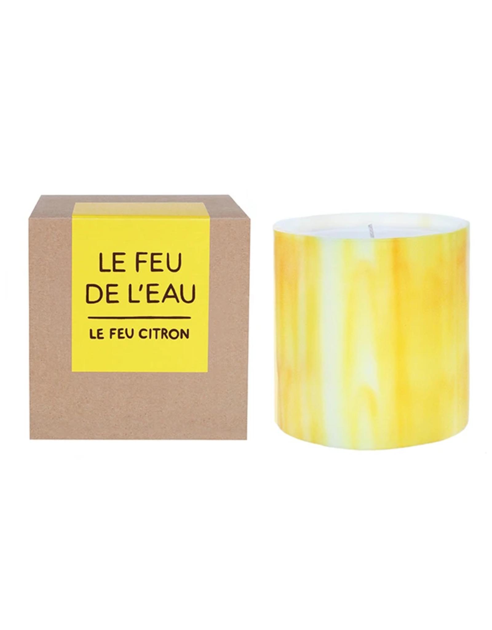 Le Feu De L'Eau Le Feu Citron Candle