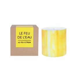 Le Feu De L'Eau Le Feu Citron Candle | Citrus + Bergamot