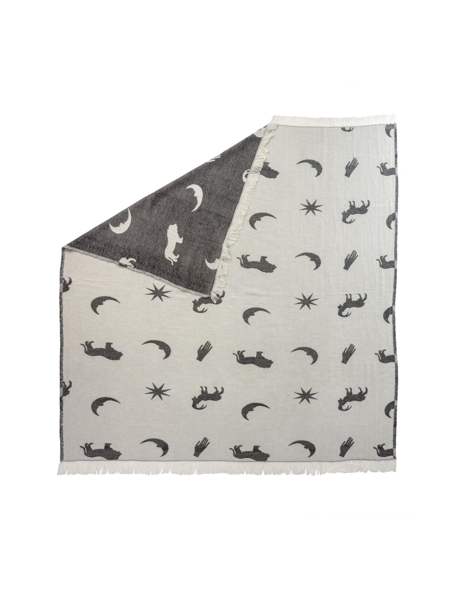 Indaba Astrology Throw - Grey