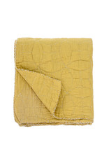 Indaba Olive Quilted Throw