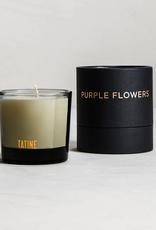 Tatine Dark, Wild, + Deep - Purple Flowers