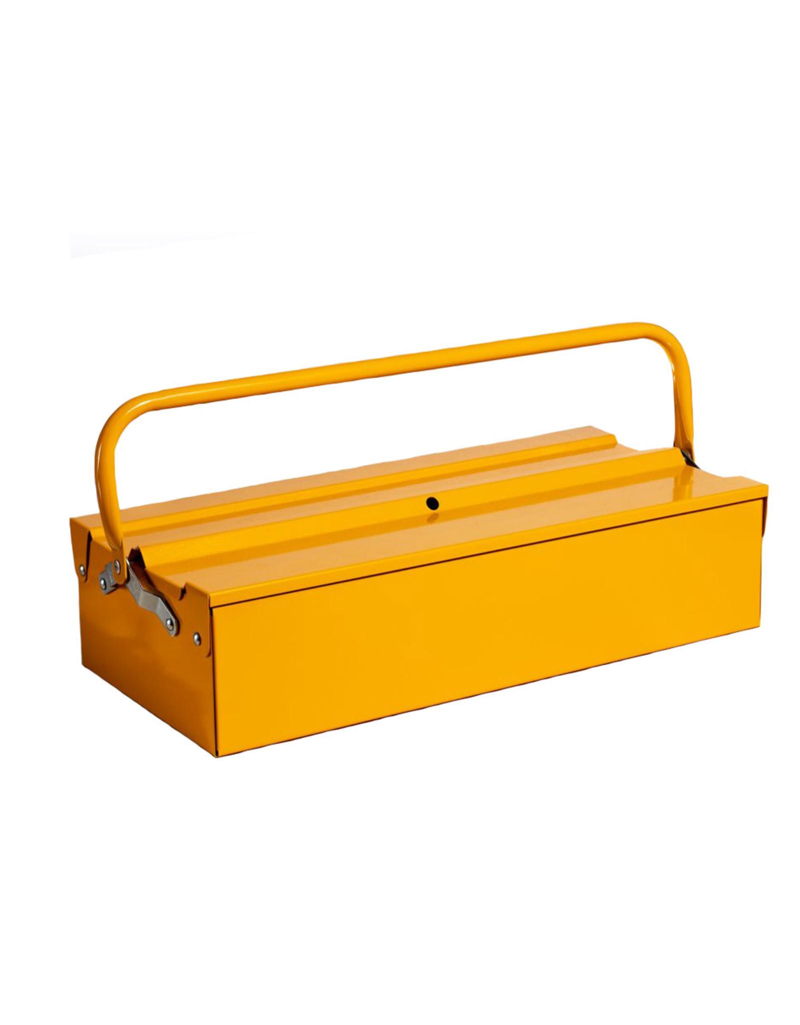 Single Layer Tool Box - Yellow