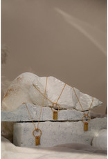 Hailey Gerrits Designs Arbutus Necklace - Moonstone