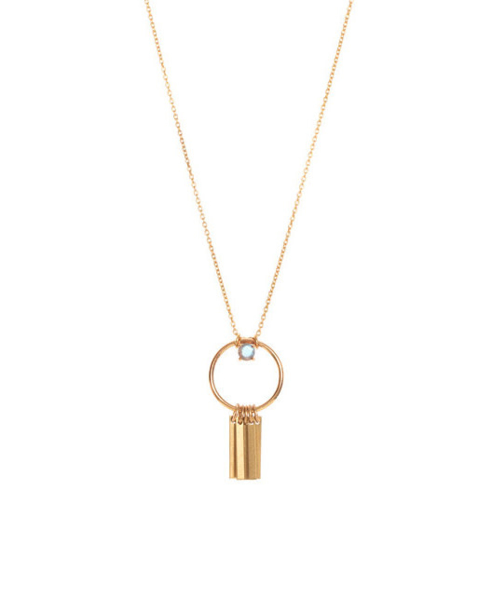 Hailey Gerrits Designs Arbutus Necklace - Labradorite